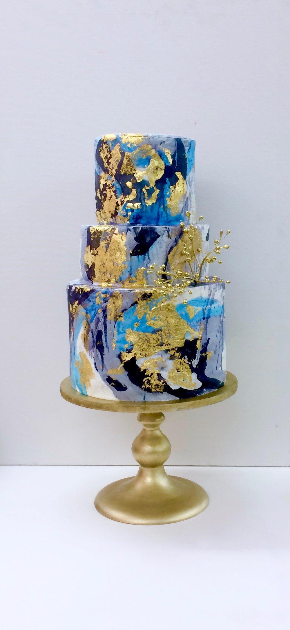 marble hand-painted cake by jaime gerard trinidad and tobago cake.jpg