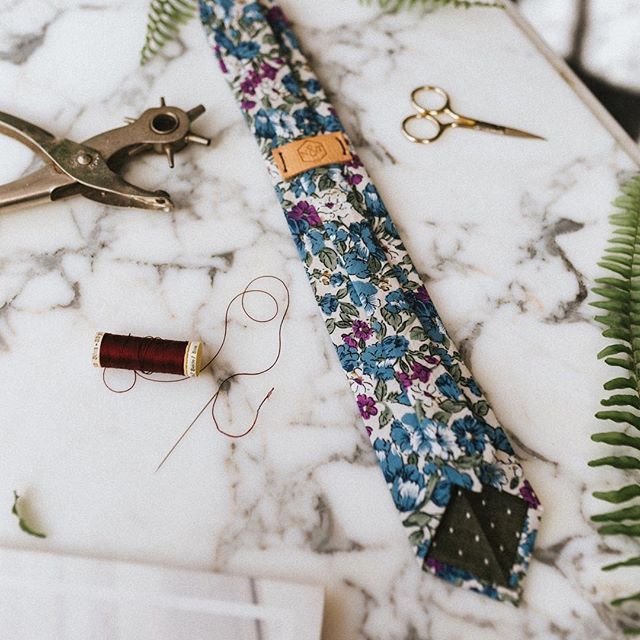 Our neckwear is crafted using quality, natural materials. Our artisans cut and sew each piece by hand taking the time to craft each piece to the highest standard.