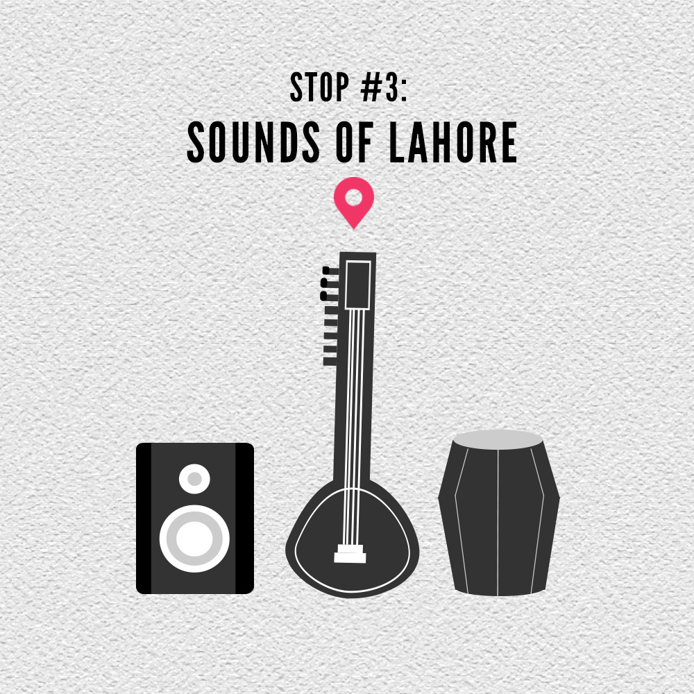 From outdoor music festivals to cosy cafe gigs, the music scene in Lahore is one to be all ears for. Without a doubt, we'll be weaving these sounds and stories into our project.