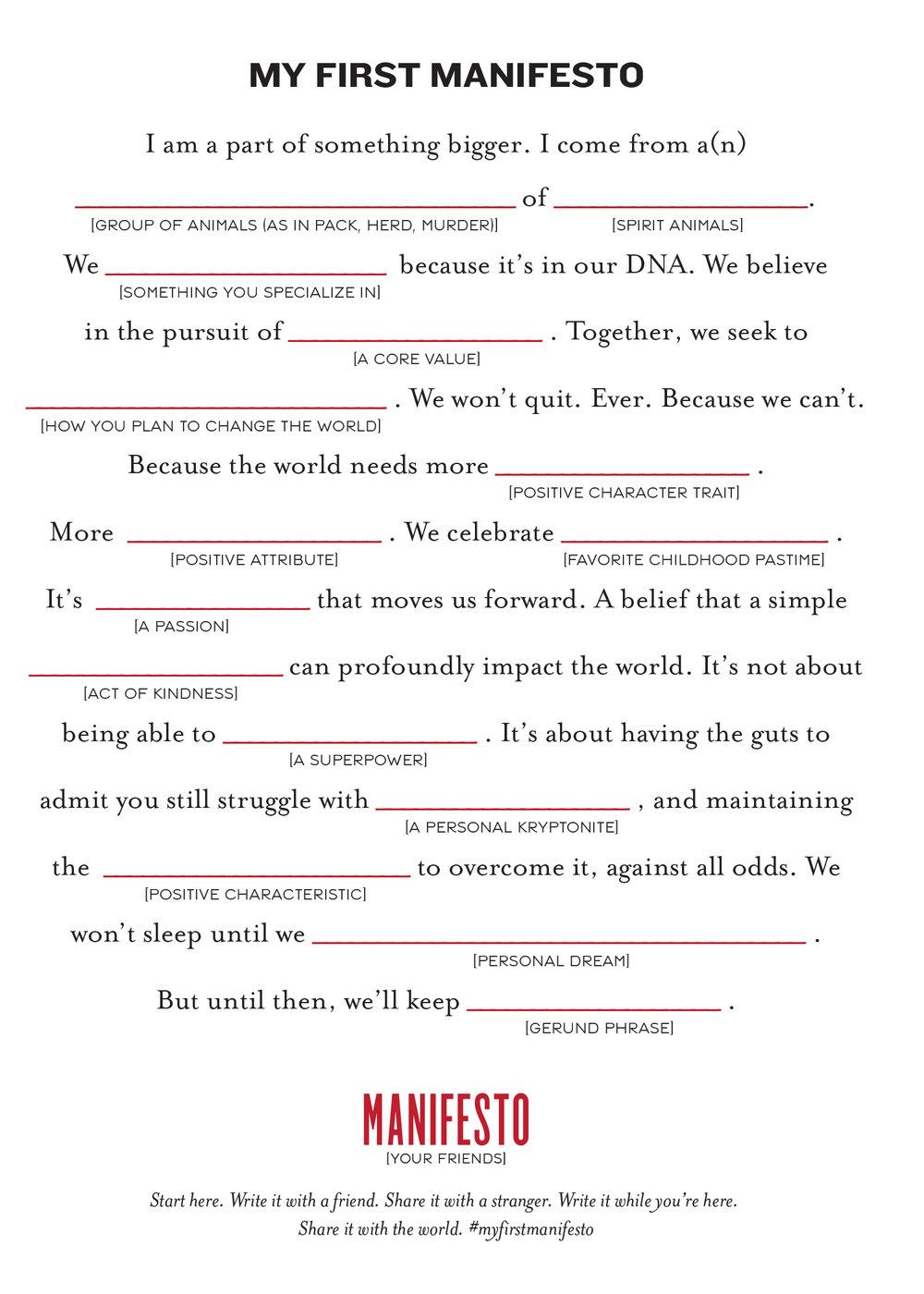 My-First-Manifesto