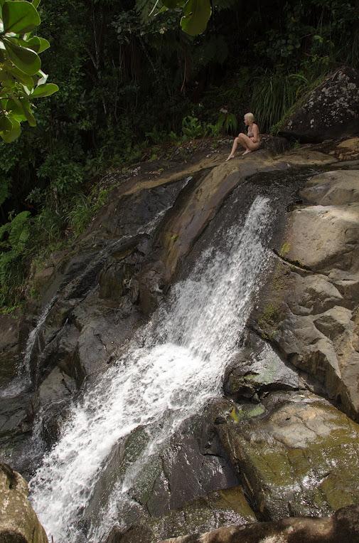 Rainforest Inn Private Waterfall