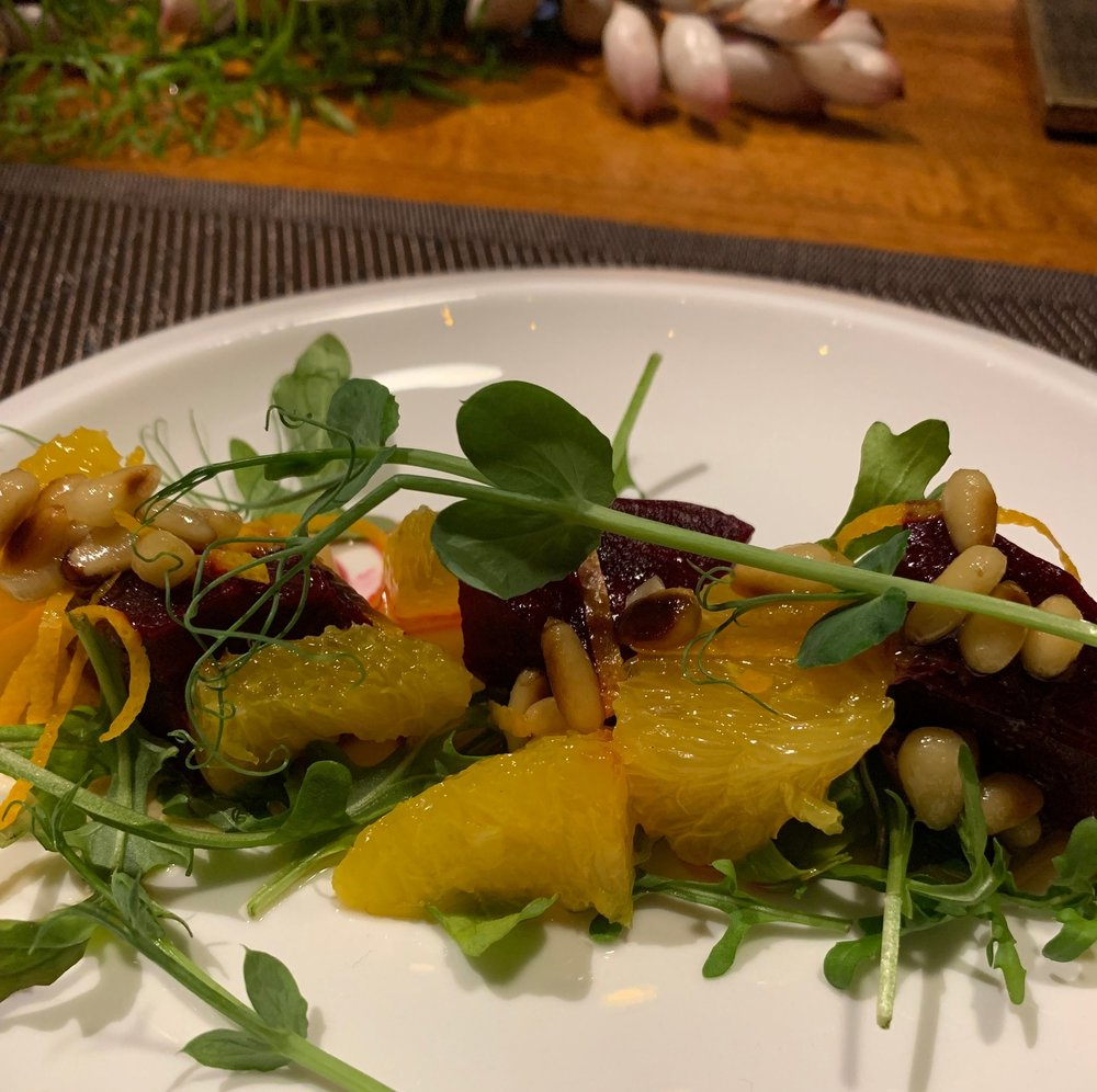 Renée's micro-greens often make appearances on Instagram as well as on guests' plates!