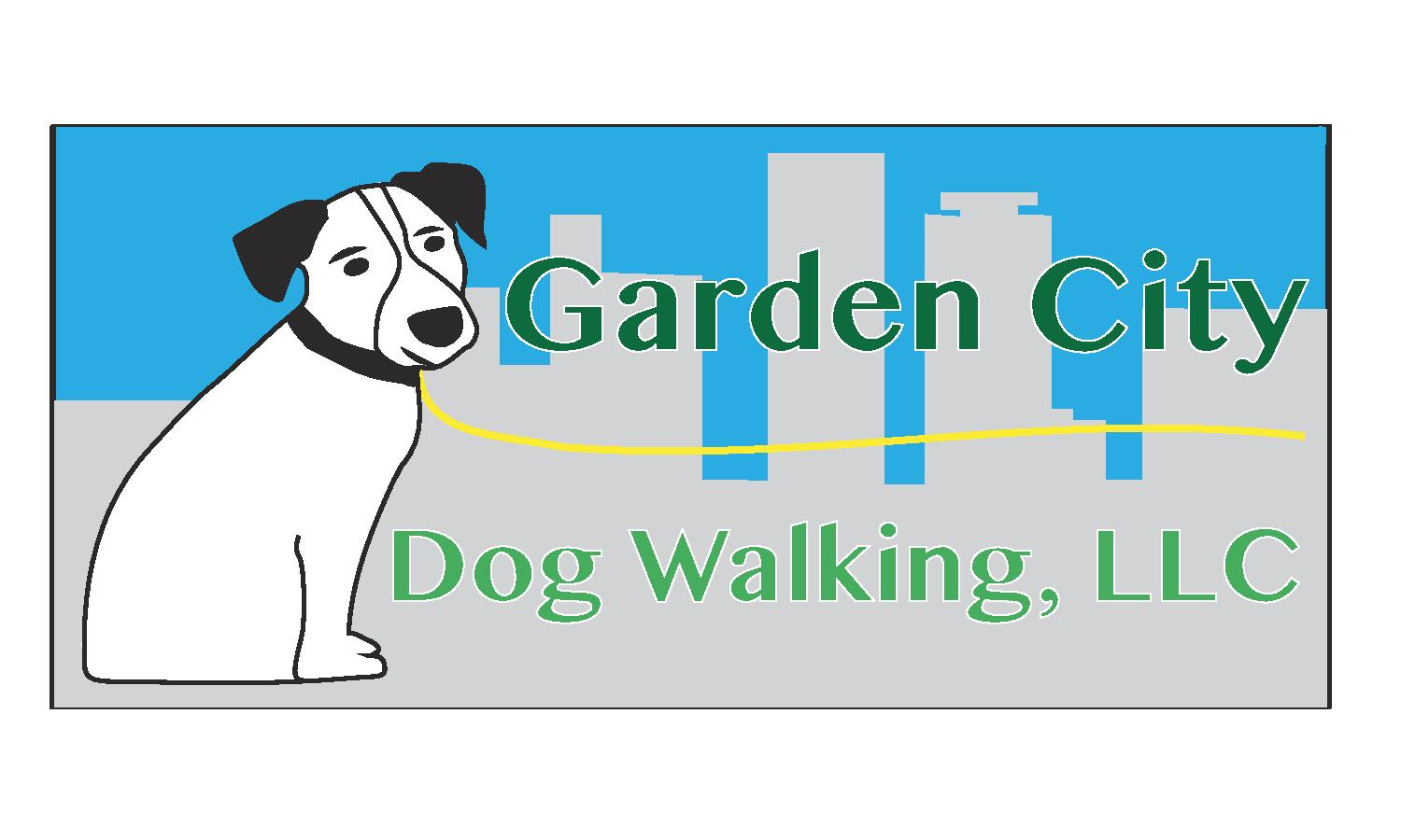 Garden city dog walking llc professional dog walking for Professional dog walker rates
