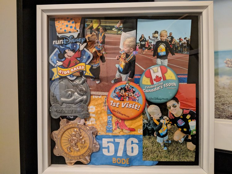How I Display Our Disney Race Weekend Medals Tots And Tackles
