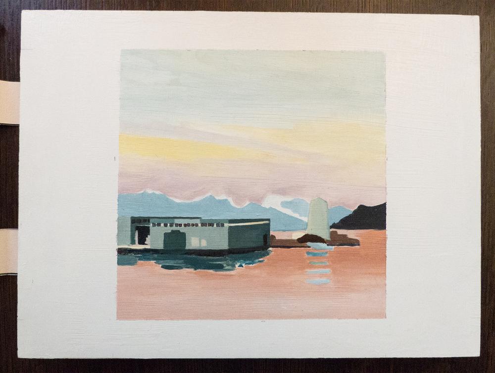 Balsfjord, detail