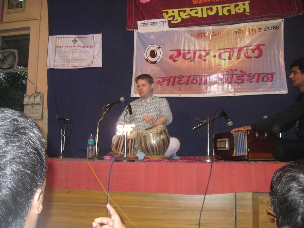 Performing Tabla Solo in Mumbai