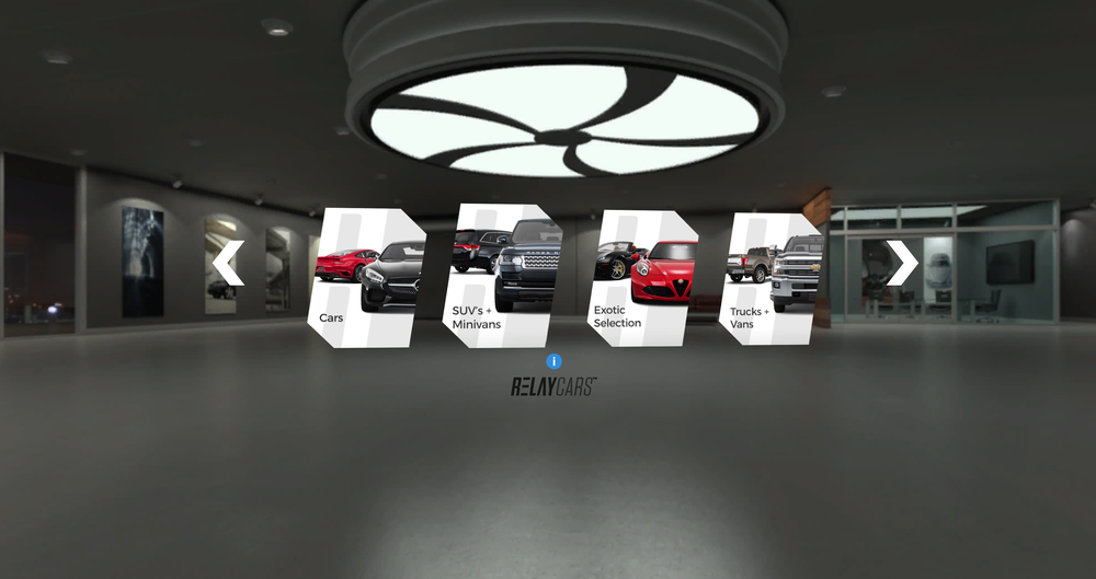 Shop For Your Next Car In Virtual Reality Evox Images