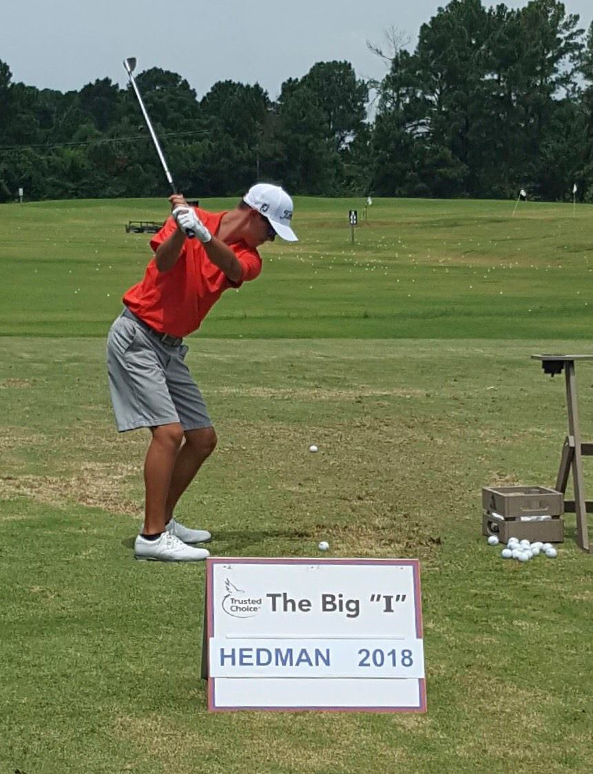 Husky Spotlight 2017: Nick Hedman is a senior at Hamilton High School. This is his 3rd year on the Varsity golf team. Even though Nick has only been golfing for 5 years he has shown tremendous skill. His passion for the game shows as he is at the course daily practicing. He is passionate for the game on and off the course. His win at the Phoenix City Junior Championship took him to the Big I Invitational in Mississippi where he finished in the top 15. In 2016 Nick had an Eagle on the 18th hole at GCU to propel the team into 2nd place at the State Championship match. Nick will be playing in college and plans on taking his skill all the way to the PGA.