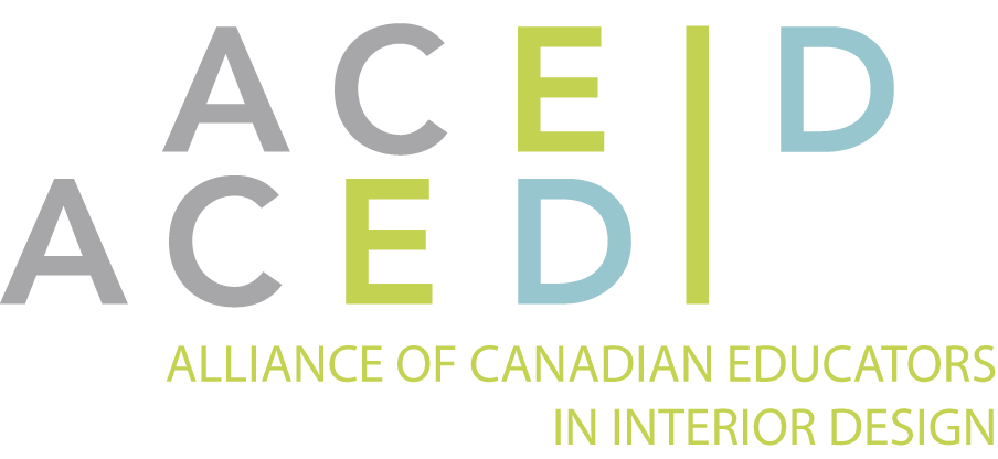 ALLIANCE OF CANADIAN EDUCATORS IN INTERIOR DESIGN