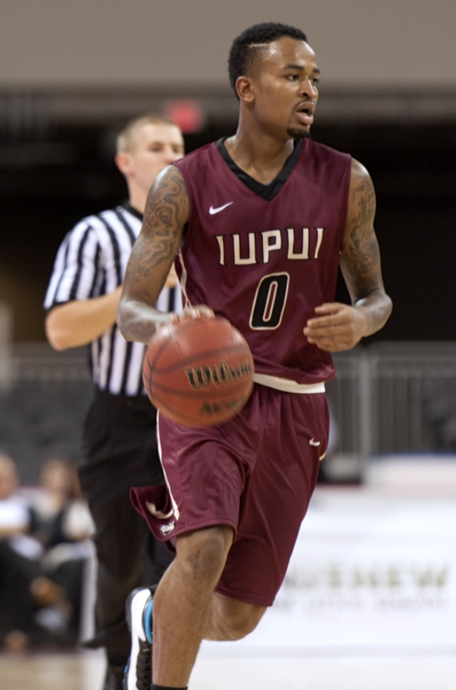 DARELL COMBS | Indiana University - Purdue University Indianapolis (IUPUI)  Thornwood High School, South Holland  Named to the Academic Advisor's List for a GPA of 3.0 or higher (2014-2015) Transferred from Eastern Michigan to IUPUI in 2014 Career high 23 points vs. Kentucky on November 27, 2013 Season high 21 points vs. Western Michigan on February 23 , 2014 Transferred from Blinn College to Eastern Michigan in 2013 Averaged 16.8 points per game  All-District and All-Regional performer at Thornwood High School