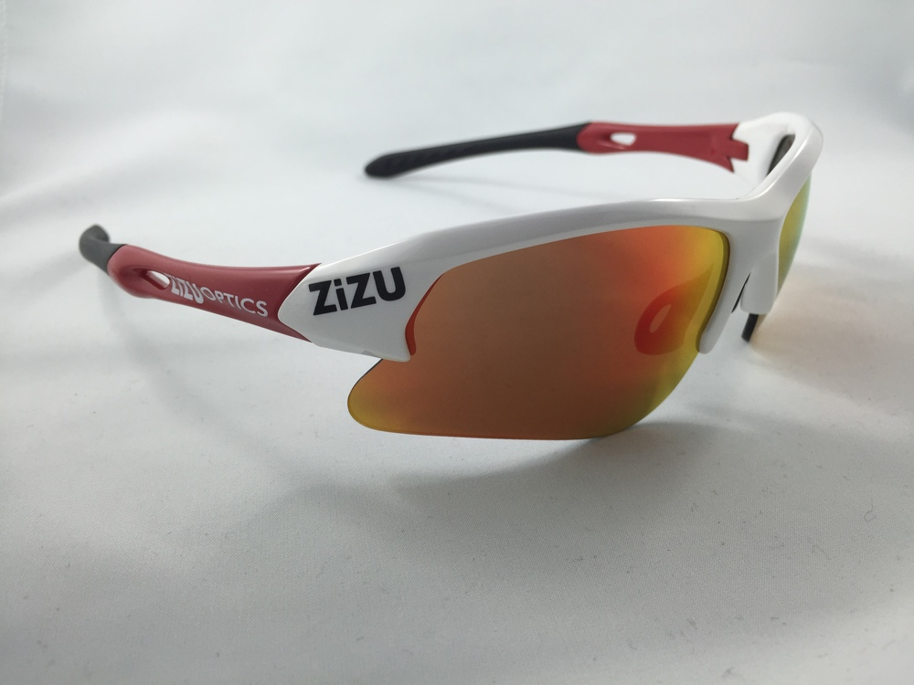 TRX White Red - Red Revo Lens and clear lens strap$89 plus tax