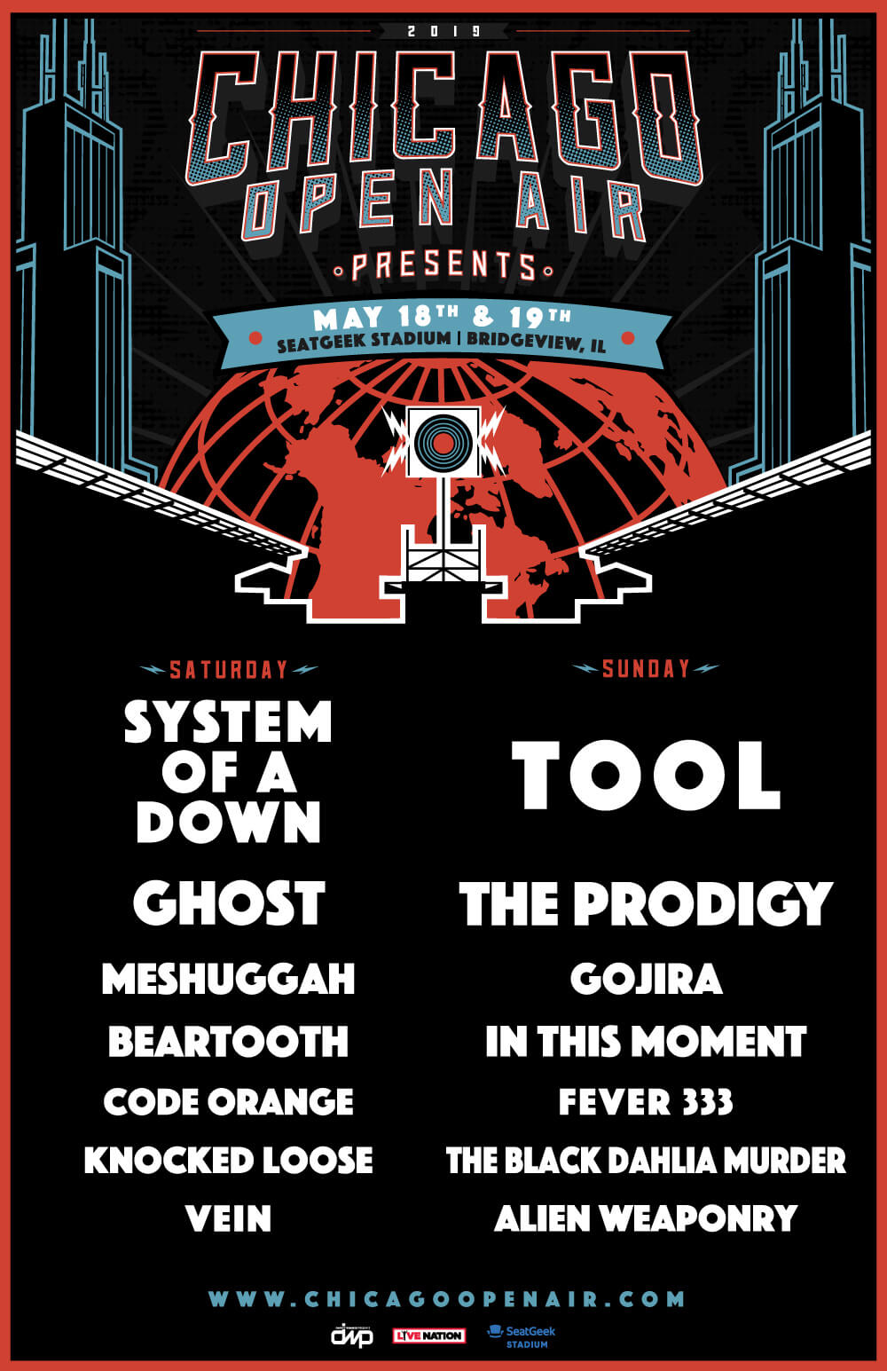 Chicago Open Air 2019