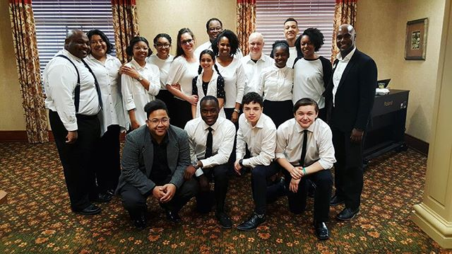 NDAC OUTREACH|| The NDAC Outreach Team ministered through volunteerism, prayer, and song at The Bridge at Florissant's Annual Easter Brunch. . . #newdestinyapostolicchurch #kingdombuilding #ndacoutreach