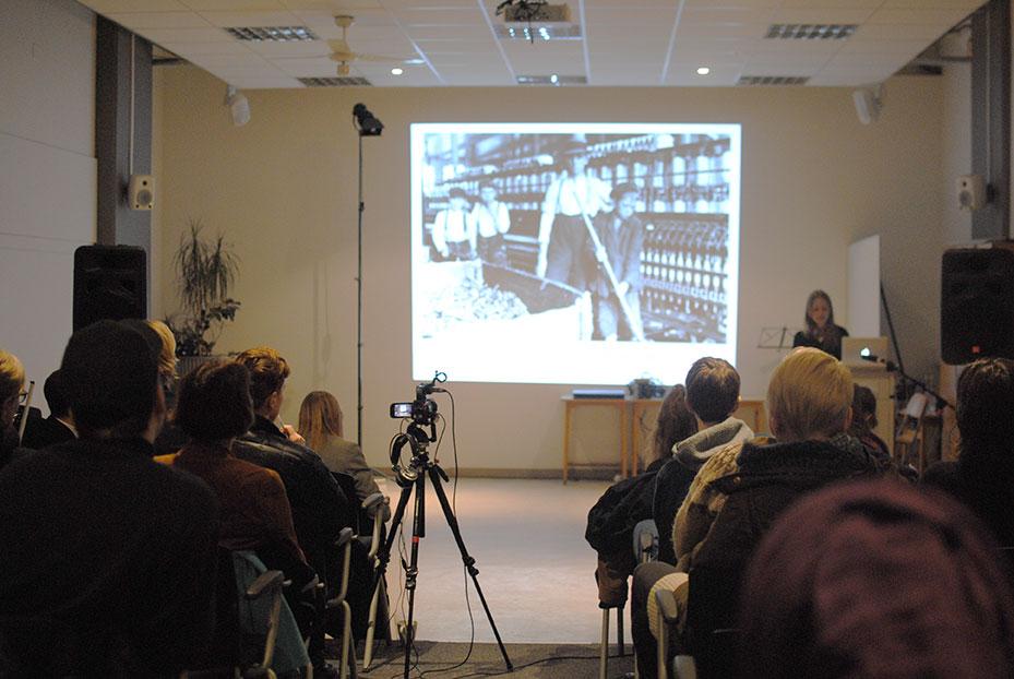 Stefnaie Hessler. Photo: Andrea Aðalsteinsdóttir