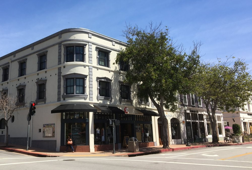 Monterey Street in 2018