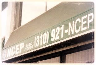 Our original office and gym in Inglewood, California in the early 2000's.