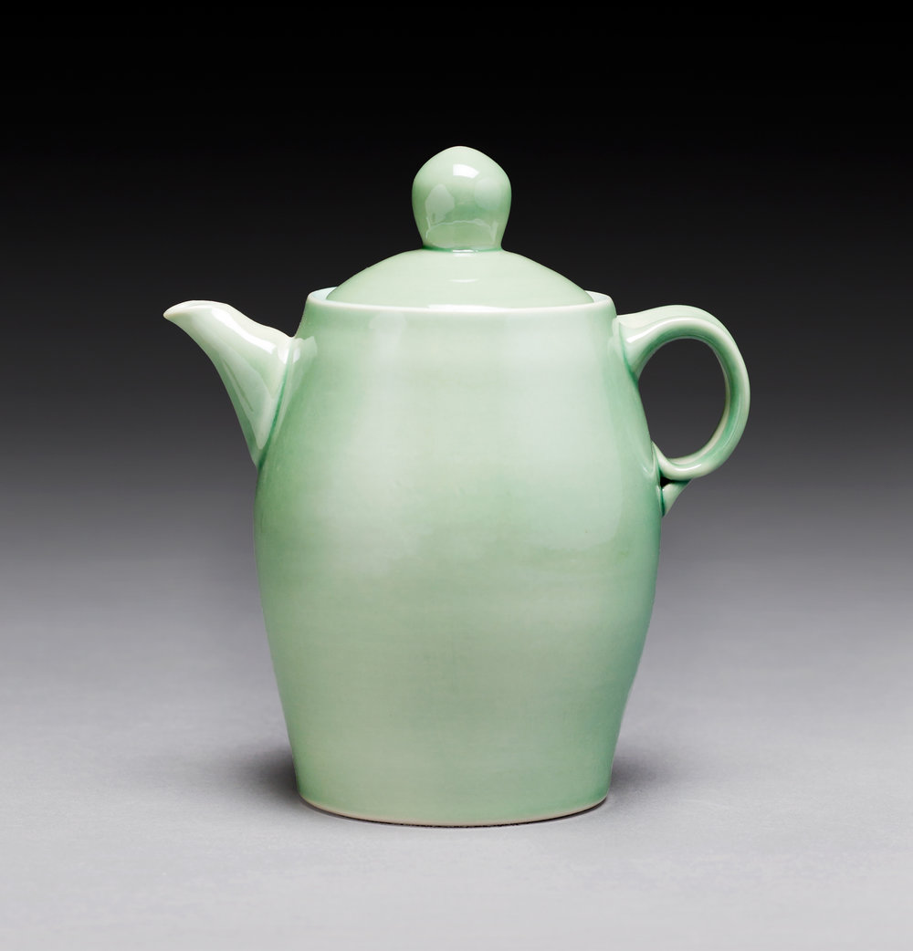 Green Orb Coffee Pot