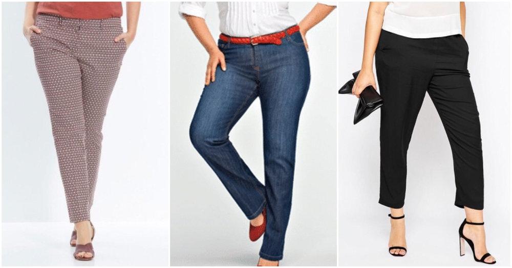 pantalons morphologie o