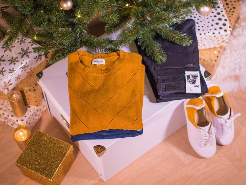 sapin, malle, sélection, cadeaux, noel, shopping, fêtes