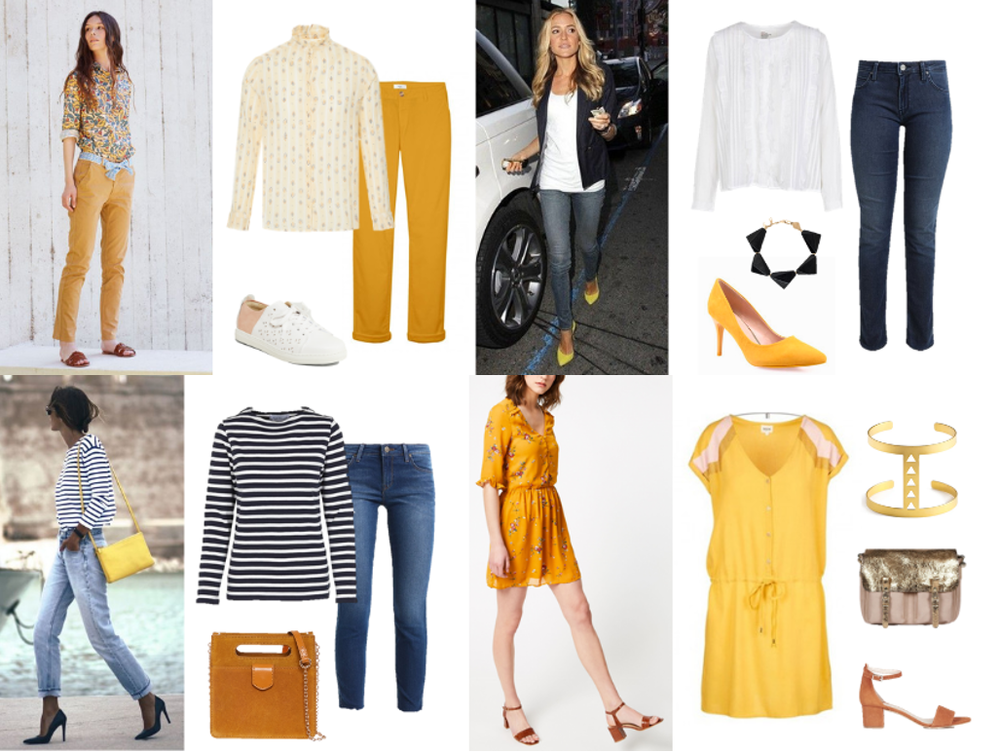 tendance, printemps, malle, box, styliste, 2019, jaune, couleur