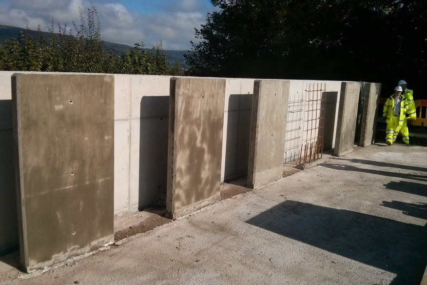 Credit: Cardiff University |Concrete being tested as a part of the Materials for Life initiative by a trio of universities in the U.K.