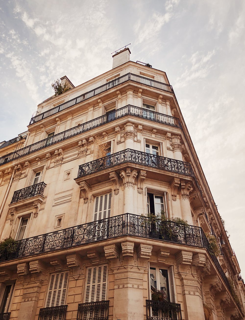 My new, temporary neighborhood in Paris, France.