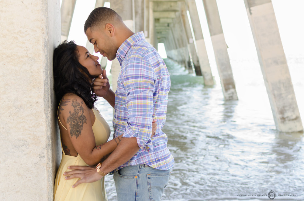 engagement session wrightsville beach, nc