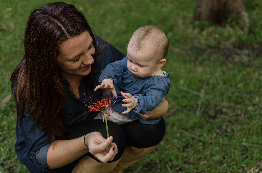 Intimate mommy & me portraits Wilmington, NC photographer