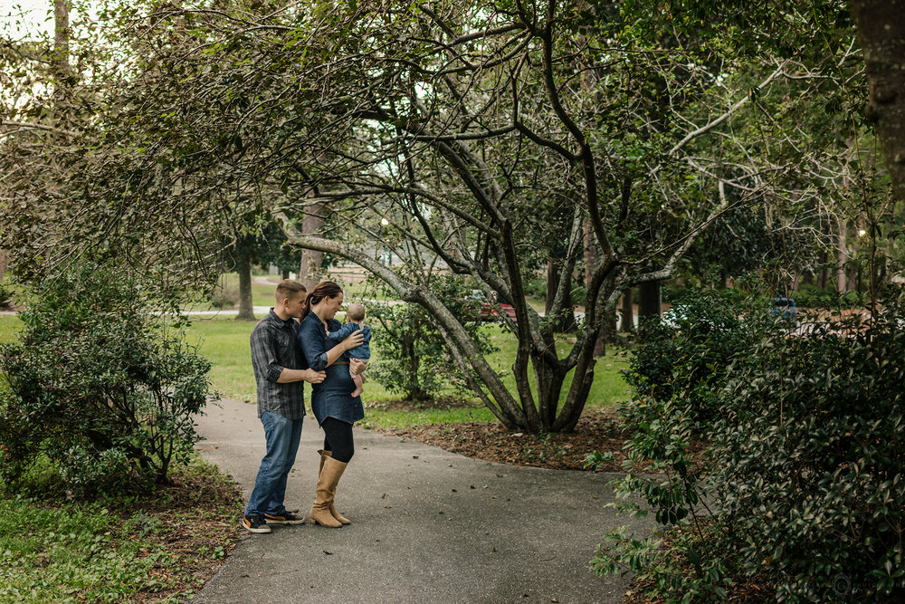greenfield lake family session wilmington nc