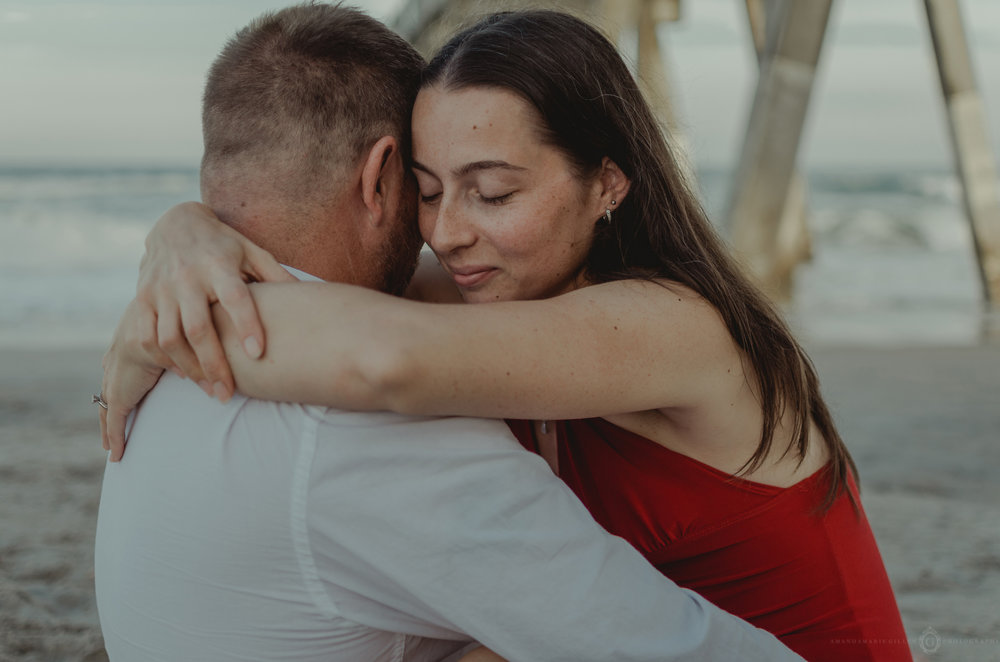 wrightsville beach couples session NC