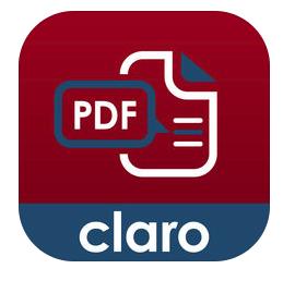 Claropdf App cheat Sheet