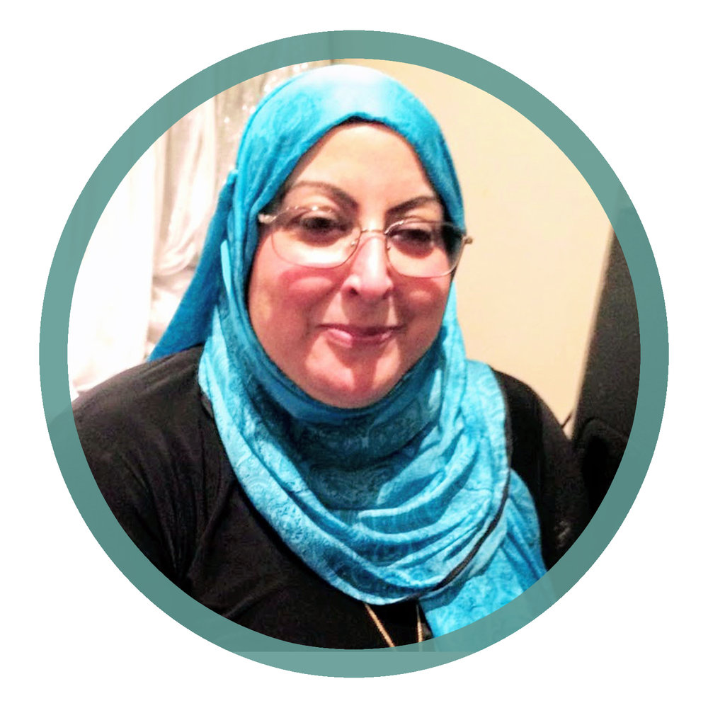 Amal S. - I am the in house counsellor for Nisa Homes. I coach the women who stay with us to cope with their stressful situation. Things that make me happy are sushi and crocheting. I can speak English and Arabic.