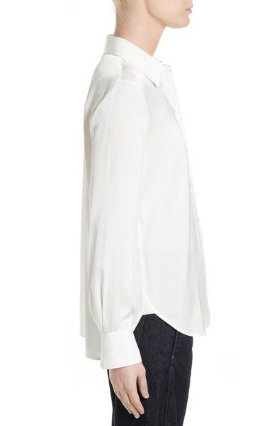 Stretch Silk Blouse