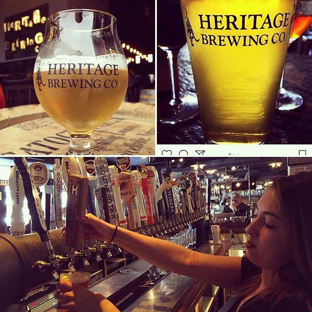 @heritagebrewing #nowpouring #amityhalluptown #deliciousbeer #virginia