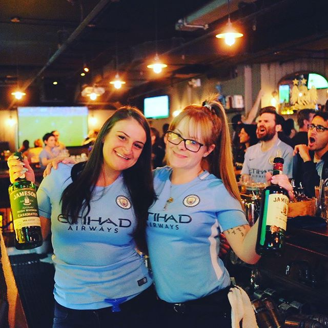 Huge thank you to everyone who turned out today...#mcfcofficial #champions #mancity #manchestercity #newyorkskyblues