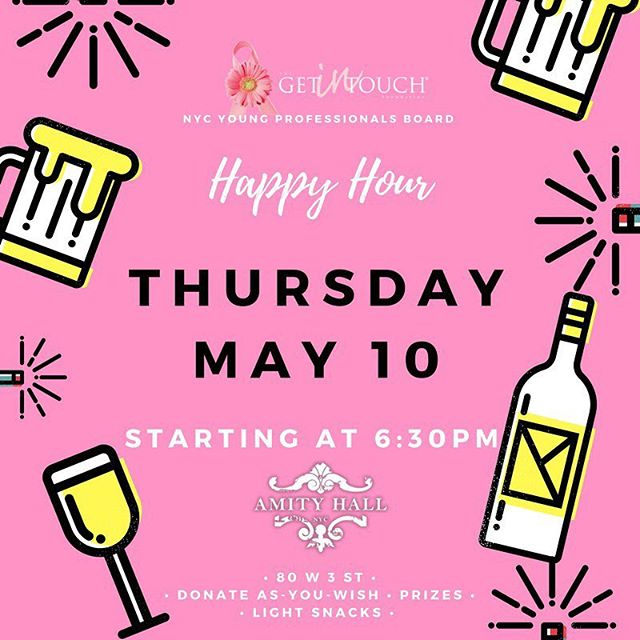 #getintouchfoundation #greenwichvillage #events #nyc #thursday #youngprofessionals