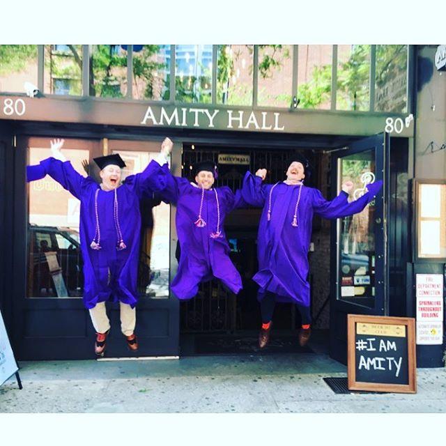#greenwichvillage #nyu #nyugraduation #graduation #happyhour #nyc #finalsweek
