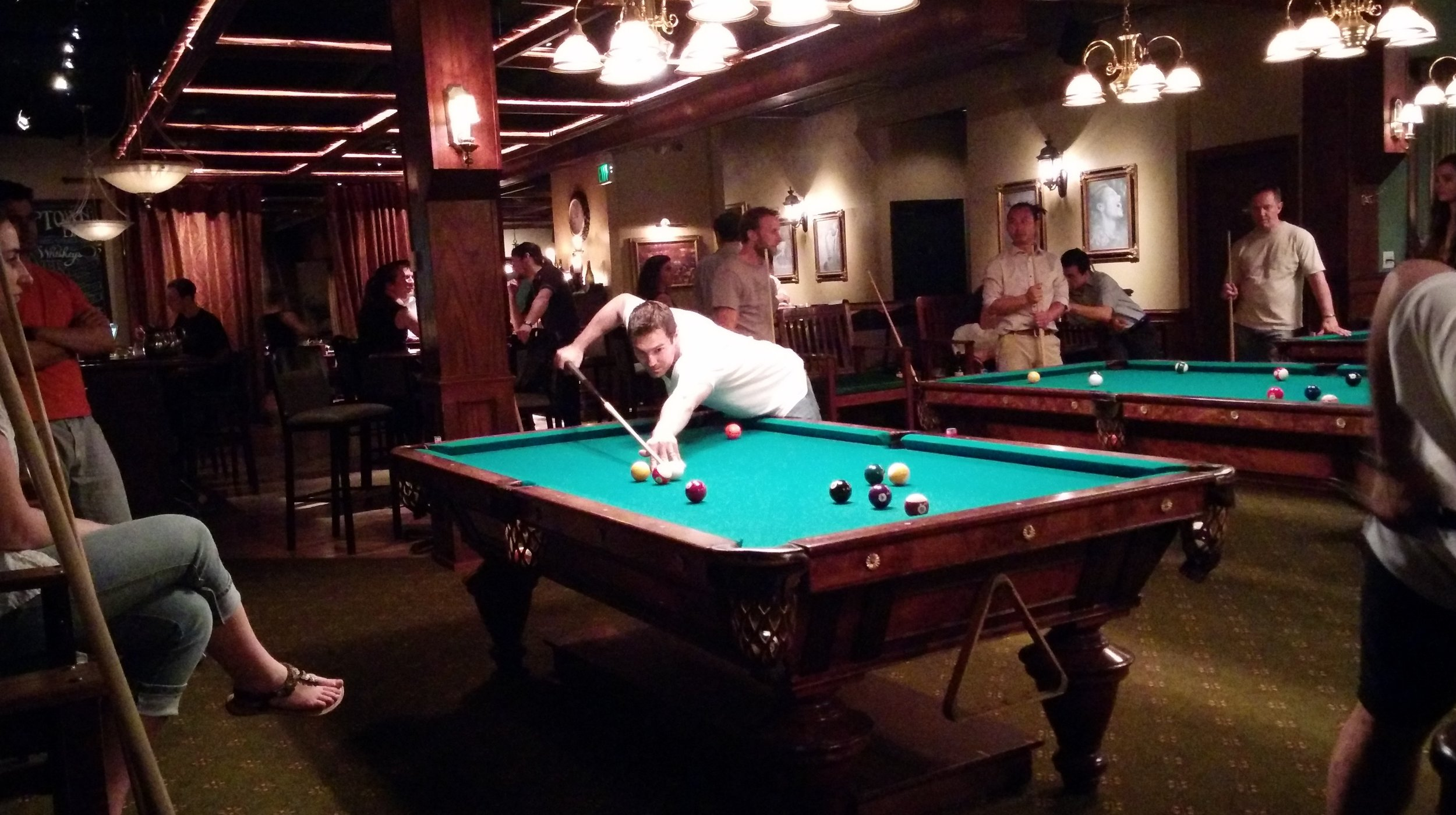 Uptown Billiards Club - How much room do you need for a pool table