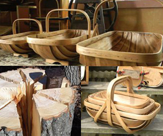 TRUGS ranging $150-$200 by Swamp Road Baskets ALSO SOLD at Ithaca Farmers Market