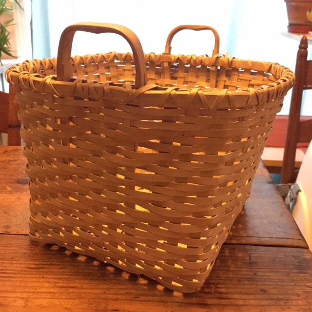 Corn Washing Basket by Holly John. $150. Contact her at 716-864-8565 or Hollyajohn@aol.com to order