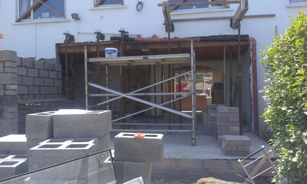 Project management house extension