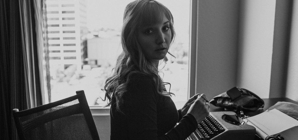 Jessy Easton Memoir Typewriter