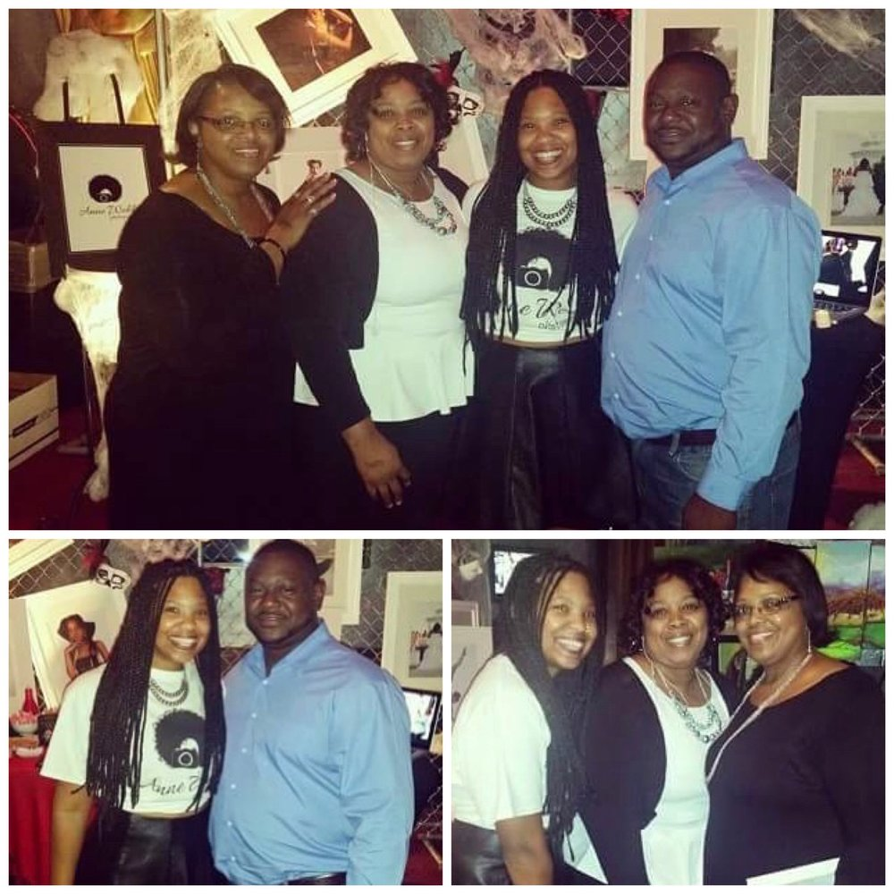 Sister, Mom, & Cousin, RAW 2014