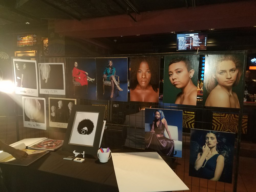 My table at RAW: DALLAS, The House of Blues