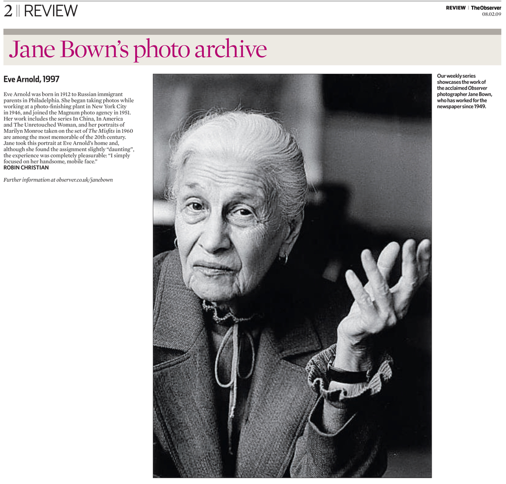 The Observer Review (2009)