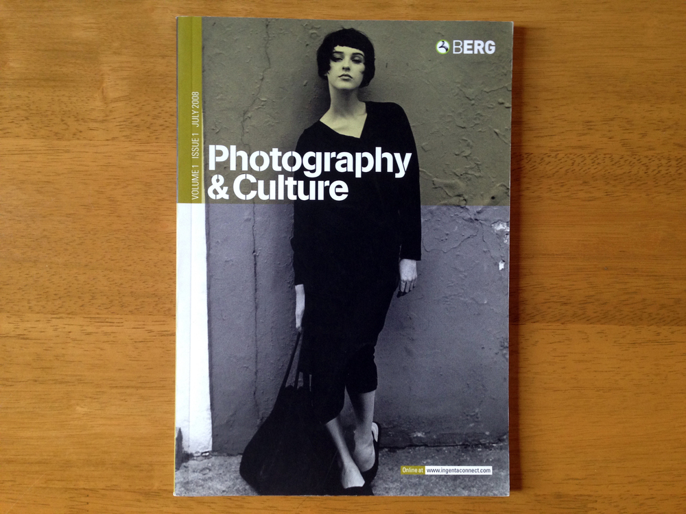 Photography & Culture,  Berg (2008), Volume 1 Issue 1
