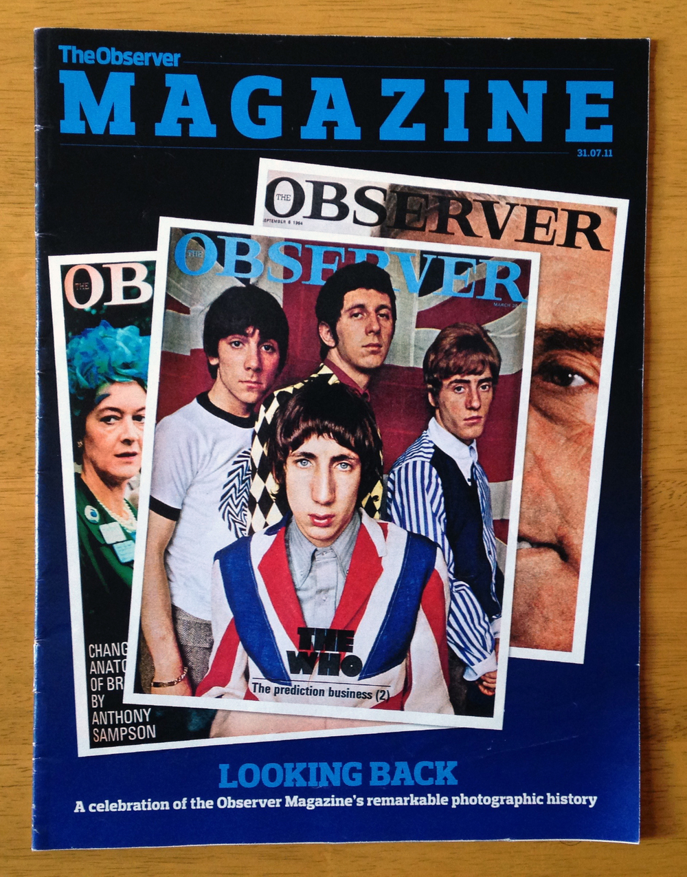 The Observer Magazine (2011)  Picture Research