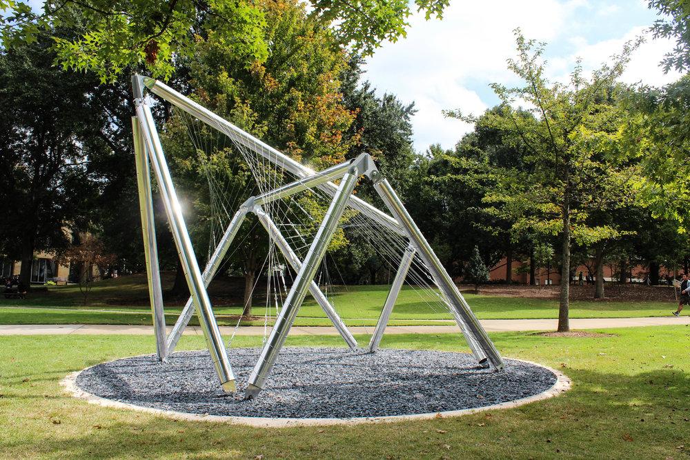 The Veil on Georgia Tech Campus | Photo by Stephanie Wright