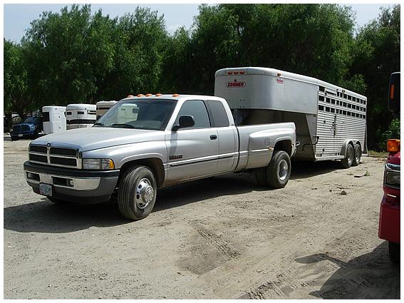 Dodge Truck w/ Trailer