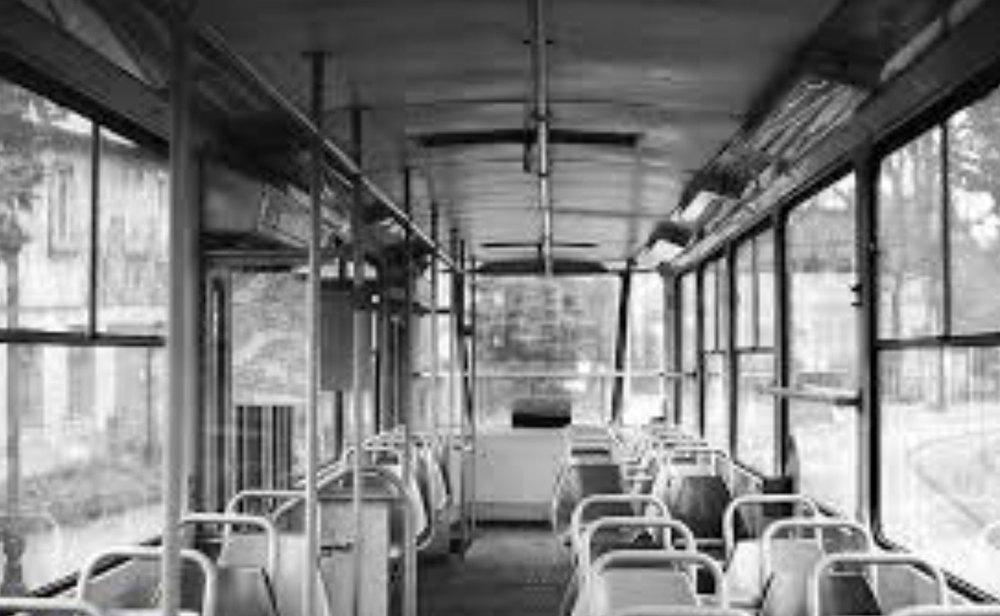 Leipzig Tatra Tram 1985 - inside